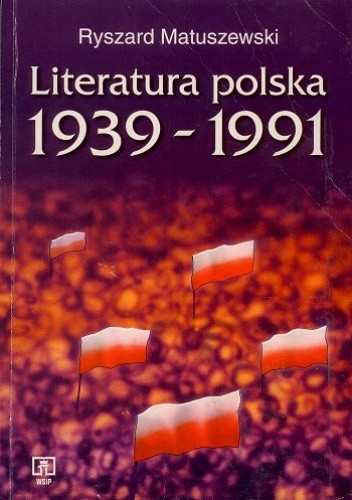 Okładka książki Literatura polska 1939-1991