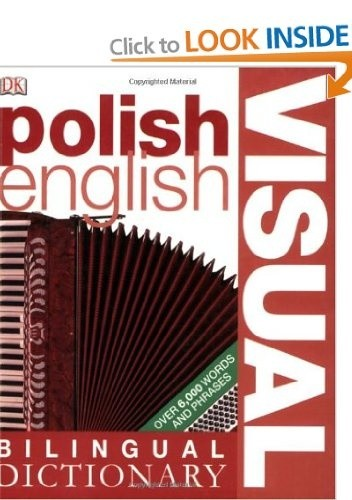 Okładka książki Polish-English Visual Bilingual Dictionary