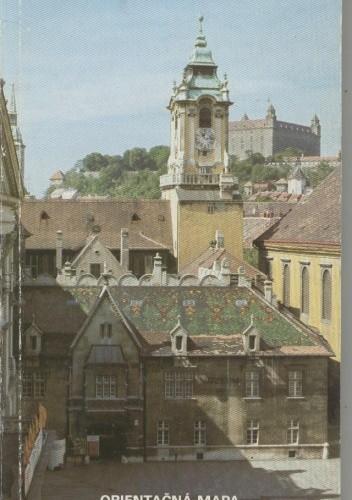 Okładka książki Bratislava