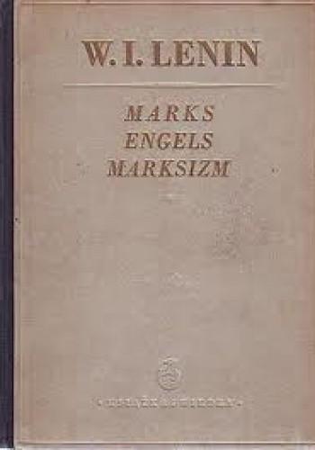 Okładka książki Marks Engels Marksizm