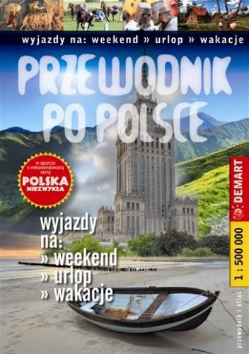 Okładka książki Polska niezwykła - przewodnik po Polsce
