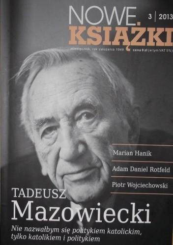 Okładka książki Nowe Książki, nr 3/2013