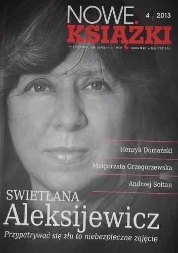 Okładka książki Nowe Książki, nr 4/2013