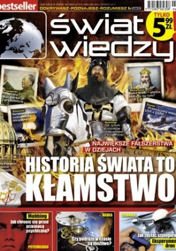 Okładka książki Świat Wiedzy (6/2013)