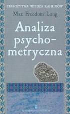 Okładka książki Analiza psychometryczna