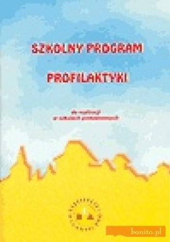 Okładka książki Szkolny program profilaktyki