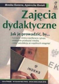 Okładka książki Zajęcia dydaktyczne