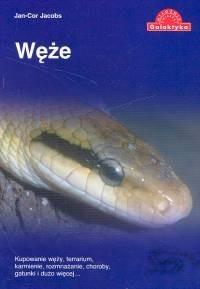 Okładka książki Węże - kupowanie węży, terrarium, karmienie, rozmnażanie, choroby, gatunki i dużo więcej...
