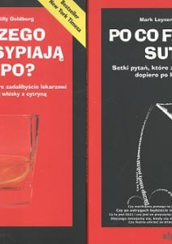 Okładka książki Po co facetom sutkia Setki pytań, które zadalibyście lekarzowi dopiero po kilku głębszych