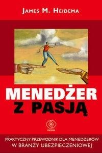 Okładka książki Menedżer z pasją