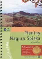 Okładka książki Pieniny, Magura Spiska z plecakiem