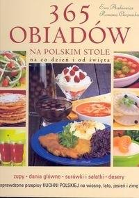 Okładka książki 365 obiadów na polskim stole