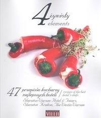 Okładka książki 4 żywioły Książka kucharska Sheraton
