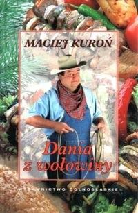 Okładka książki Dania z wołowiny