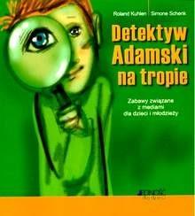 Okładka książki Detektyw Adamski na tropie