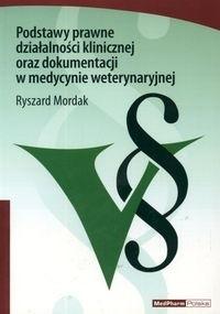 Okładka książki Podstawy prawne działalności klinicznej oraz dokument.w med.