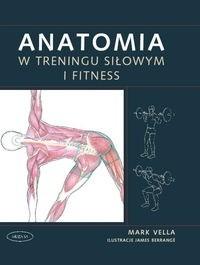 Okładka książki Anatomia w treningu siłowym i fitness