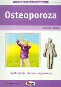 Okładka książki Osteoporoza zapobieganie,leczenie,regeneracja
