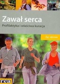 Okładka książki zawał serca Profilaktyka i właściwa kuracja