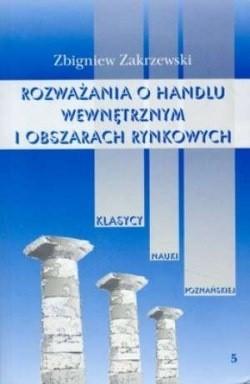 Okładka książki Rozważania o hand.wew. i obsza.rynk.