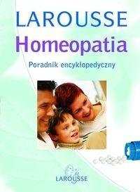 Okładka książki Homeopatia. Poradnik encyklopedyczny