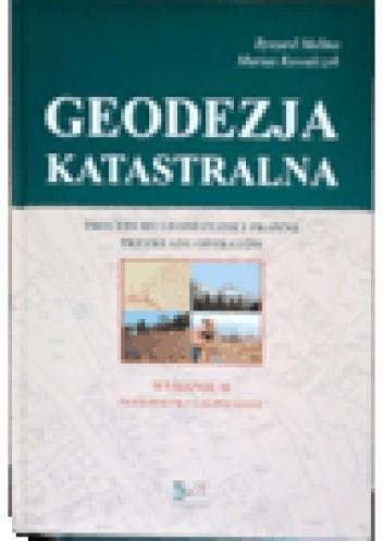 Okładka książki Geodezja katastralna. Procedury geodezyjne i prawne. Przykłady operatów