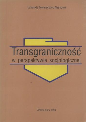 Okładka książki Transgraniczność w perspektywie socjologicznej
