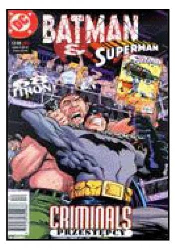 Okładka książki Batman & Superman 12/1998