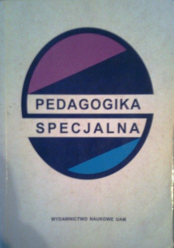 Okładka książki Pedagogika specjalna