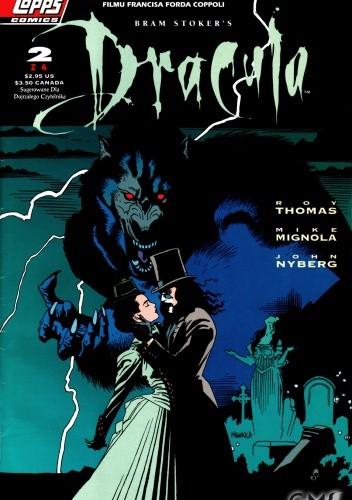 Okładka książki Dracula #2 Oficjalna Komiksowa Adaptacja filmu Francisa Forda Coppoli