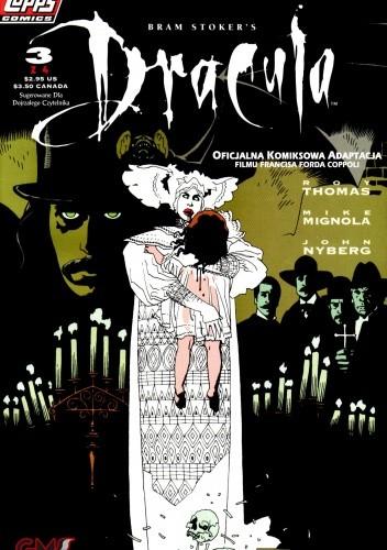 Okładka książki Dracula #3 Oficjalna Komiksowa Adaptacja filmu Francisa Forda Coppoli