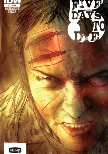 Okładka książki 5 Days to Die #3