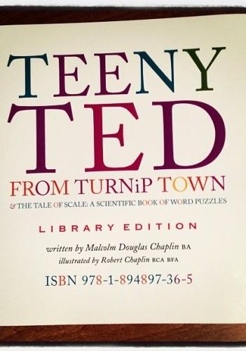 Okładka książki Teeny Ted from Turnip Town