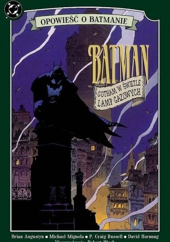Okładka książki Batman: Gotham w świetle lamp gazowych