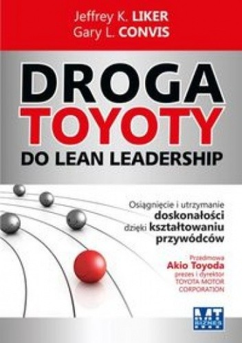 Okładka książki Droga Toyoty do Lean Leadership