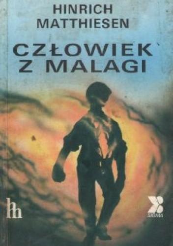 Okładka książki Człowiek z Malagi