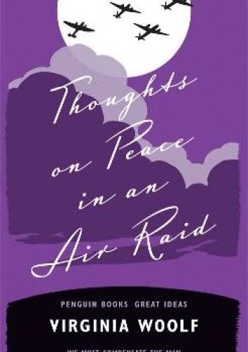 Okładka książki Thoughts on Peace in an Air Raid