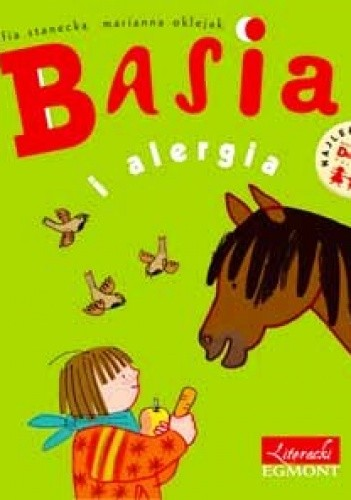 Okładka książki Basia i alergia.