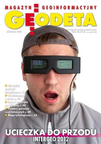 Okładka książki Geodeta. Magazyn geoinformacyjny, nr 11 (210) / 2012