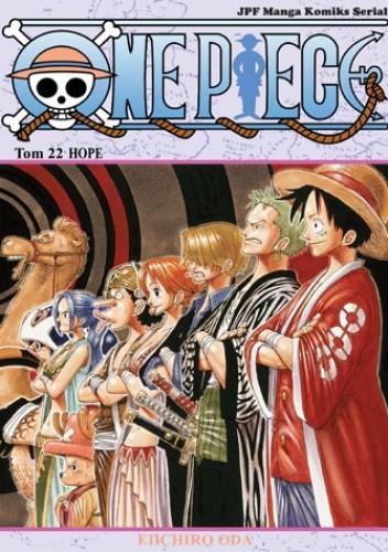 Okładka książki One piece tom 22 - Hope