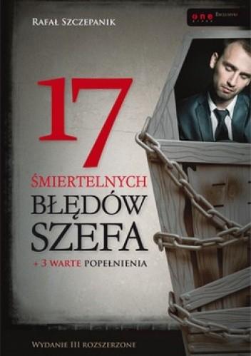Okładka książki 17 śmiertelnych błędów szefa + 3 warte popełnienia
