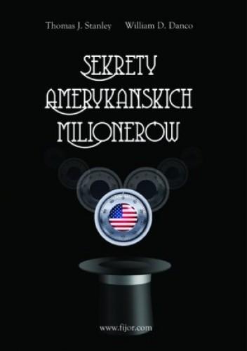Okładka książki Sekretów Amerykańskich Milionerów