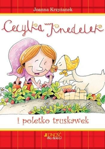 Okładka książki Cecylka Knedelek i poletko truskawek