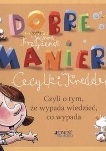 Okładka książki Dobre Maniery Cecylki Knedelek