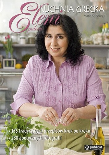 Okładka książki Eleni poleca - Kuchnia grecka