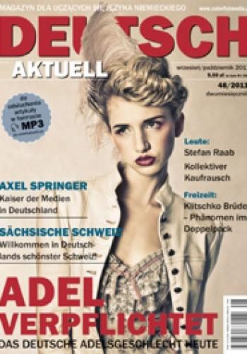 Okładka książki Deutsch Aktuell, 48/2011 (wrzesień/październik)
