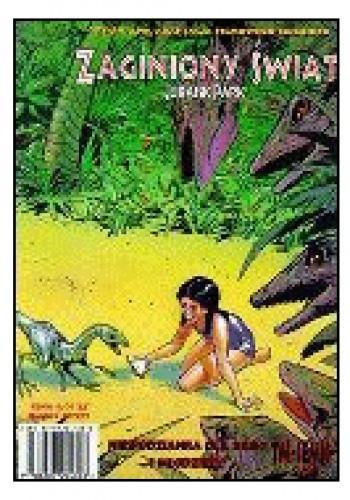 Okładka książki Zaginiony Świat. Jurassic Park