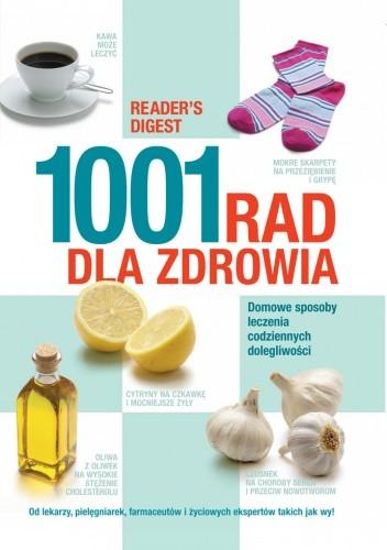 Okładka książki 1001 rad dla zdrowia
