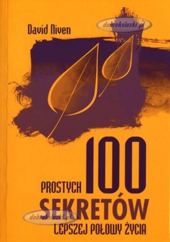 Okładka książki 100 prostych sekretów lepszej połowy życia