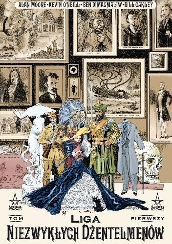 Okładka książki Liga Niezwykłych Dżentelmenów. Tom 1